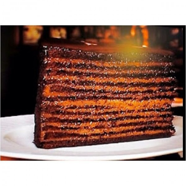 24 Layer Chocolate Cake From Strip House Steakhouse In Nyc
