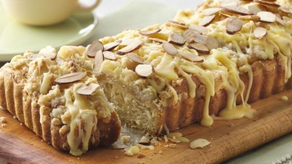 Sweet Orange And Toasted Almond Coffee Cake Recipe
