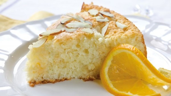 Orange Almond Coffee Cake Recipe