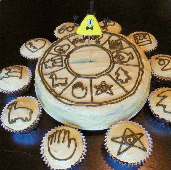 Gravity Falls Cake
