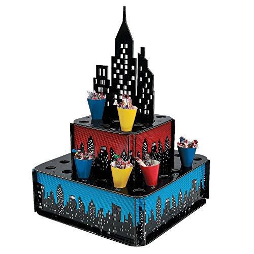 Amazon Com  Superhero City Tray With Cones