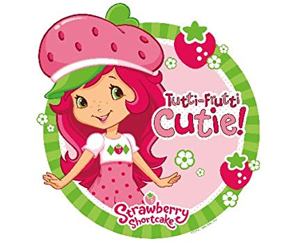 Amazon Com  Strawberry Shortcake Edible Cupcake Toppers Decoration