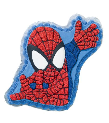 Amazon Com  Wilton Spiderman Cake Pan  Novelty Cake Pans  Kitchen
