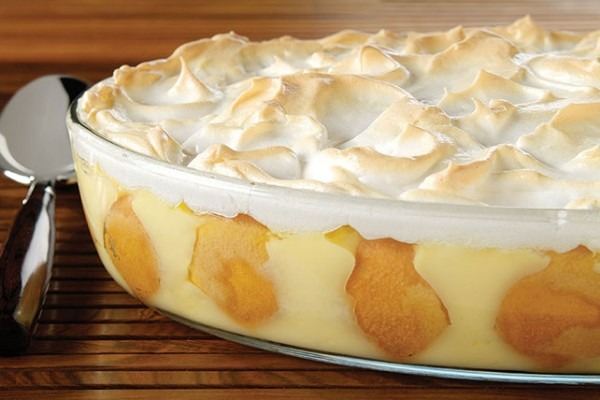 Southern Style Banana Pudding With Meringue