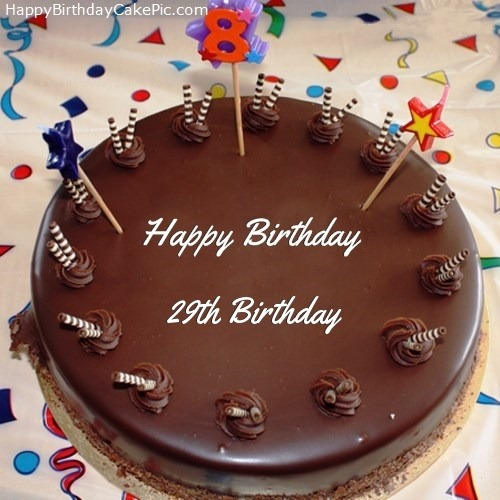 29th Birthday Cakes
