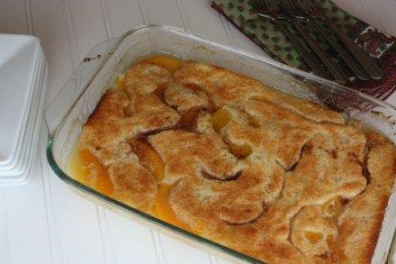 Paula Deen's Peach Cobbler Recipe