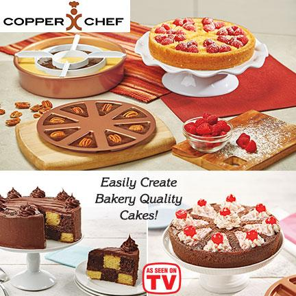 Copper Chef Perfect Cake Pan Set