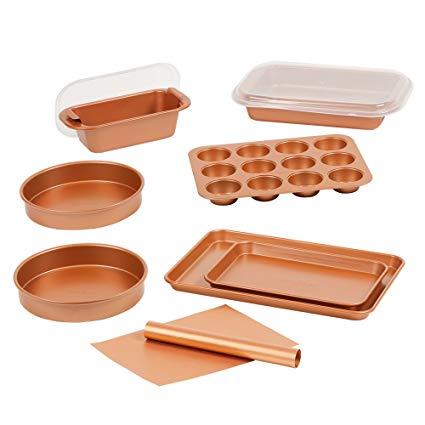 Amazon Com  Copper Chef 12 Piece Elite Baking Pan Set