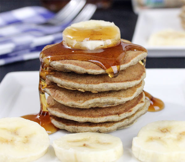 Banana Buttermilk Buckwheat Pancakes Recipe