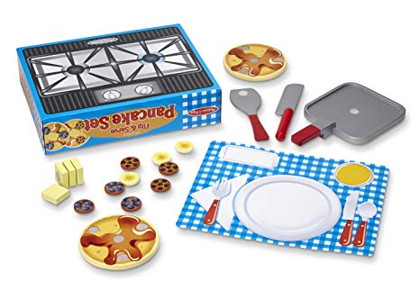 Amazon Com  Melissa & Doug Flip And Serve Pancake Set (19 Pcs