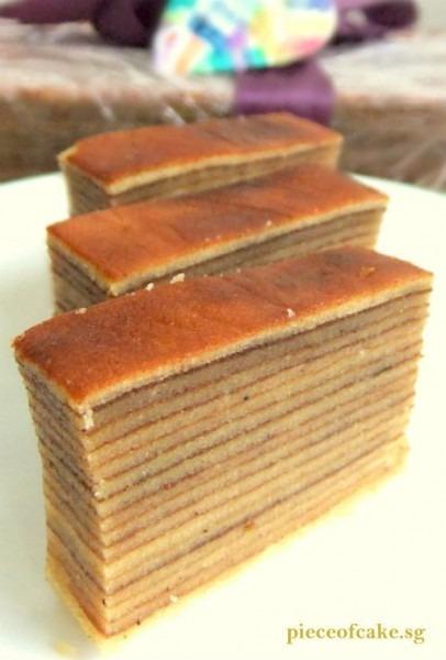 Thousand Layer Cake (kueh Lapis Legit)