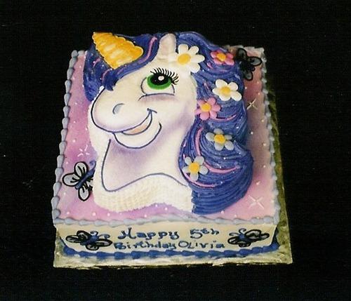 Unicorn Stacked Cake