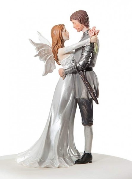 Amazon Com  Wedding Collectibles Fantasy Fairy Wedding Cake Topper
