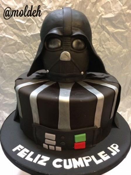 Pastel De Cumpleaños De Darth Vader, Star Wars    Darth Vader