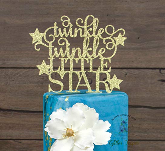 Amazon Com  Twinkle Twinkle Little Star Cake Topper, Baby Shower