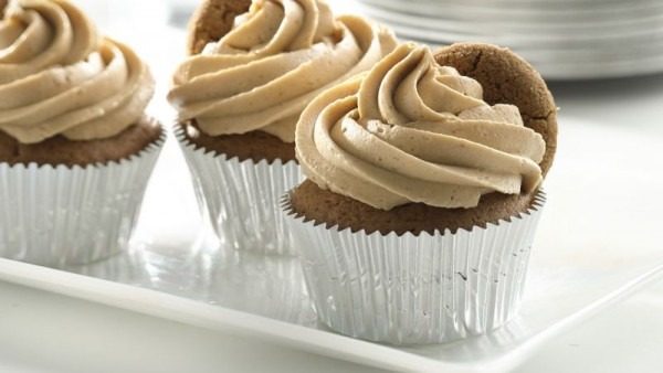 Gingerbread Cupcakes With Cookie Butter Frosting Recipe