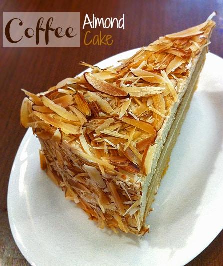 Coffee Almond Cake » Leelalicious