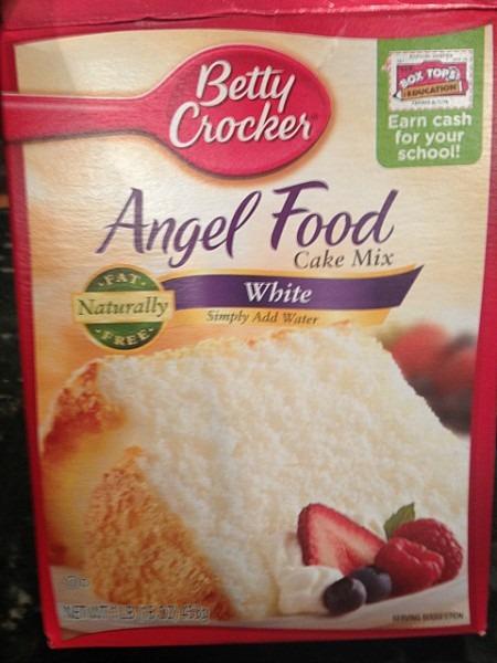 Secret Ingredient For My Angel Food Cake