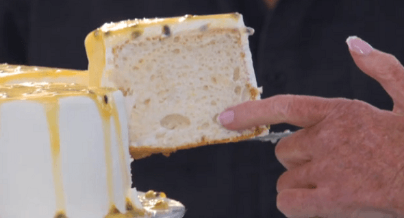 The Great British Bake Off 2013  Mary Berry's Angel Food Cake