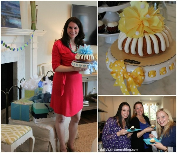 The Perfect Baby Shower Treat    Nothing Bundt Cakes