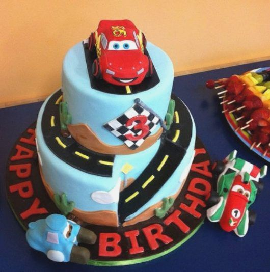 Adorable Car Birthday Cake For Boys Party – Birthdaycakekidspot Ga