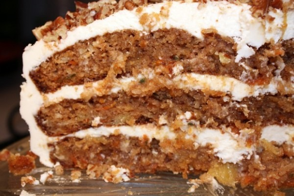 Carrot Cake Supreme • Recipes For Divine Living