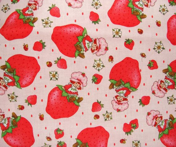 Strawberry Shortcake Fabric (1 Yd)