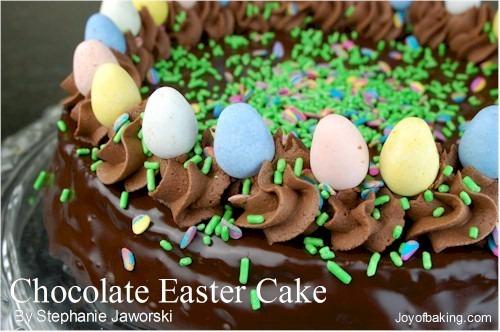 Chocolate Easter Cake Recipe