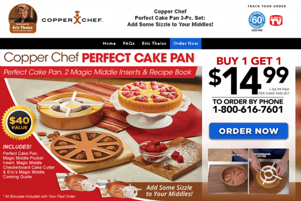 Copper Chef Perfect Cake Pan Review  Does It Work