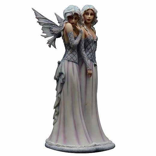 Fairy Lesbian Wedding Cake Topper