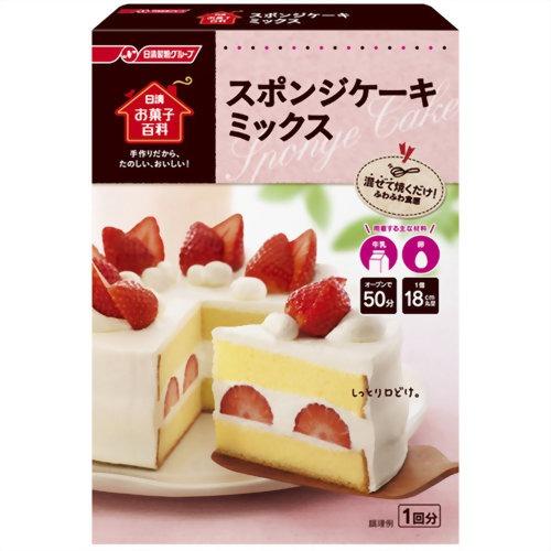 Nissin Foods Sweets Encyclopaedia Sponge Cake Mix 200 G Pet