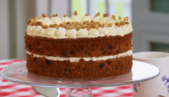 Mary Berry Sugar Free Carrot Cake Recipe On The Great British Bake