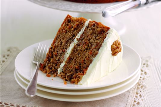 Mary Berry's Carrot And Walnut Cake With Cream Cheese Icing Recipe