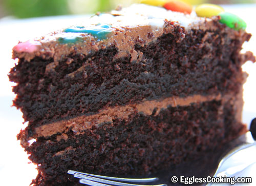 The Best Eggless Chocolate Cake Recipe