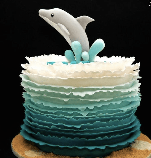 Dolphin Birthday Cakes