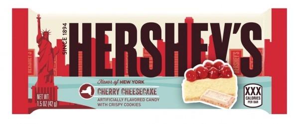 Flavor Of New York  Hershey's Cherry Cheesecake Chocolate Bar