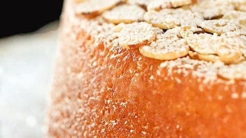 Easy French Almond Cake