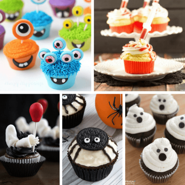 40 Cupcake Ideas! A Roundup Of Fun Food For Your Halloween Party