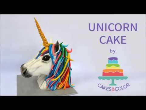 How To Make A 3d Unicorn Cake!