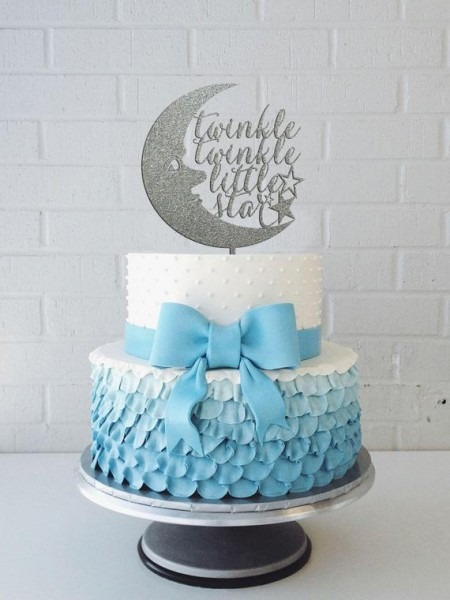 Shower Cake Topper Twinkle Twinkle Little Star Cake Topper