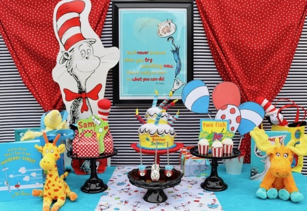 Dr  Seuss Party Ideas