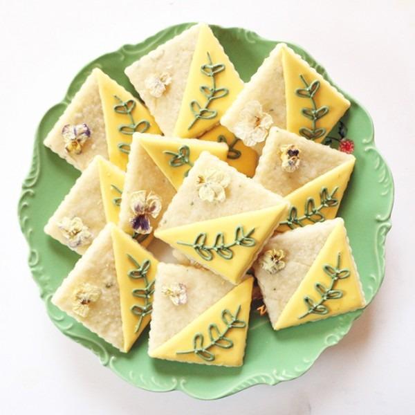 Lemon Rosemary Cookies