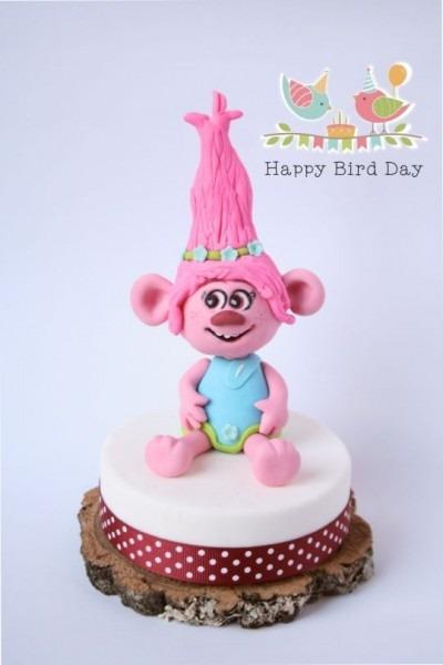 Cake Topper  Poppy (trolls)
