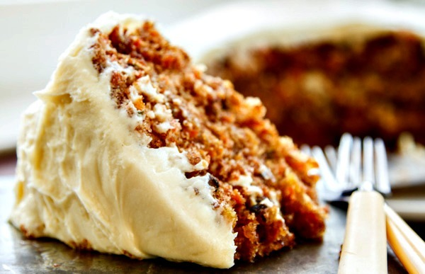 Kristy's Moist Carrot Cake With Cream Cheese Icing Recipe