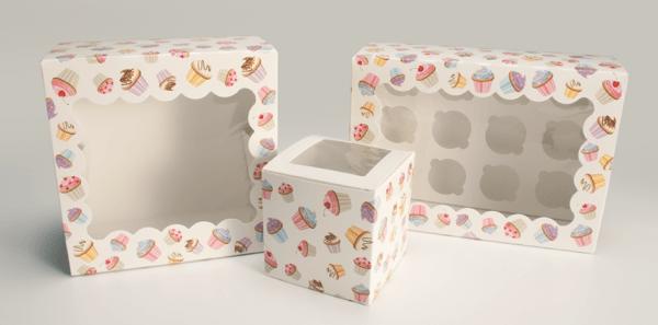 Logo  Custom Cupcake Boxes With Logo  Mod Pac Customized Cupcake