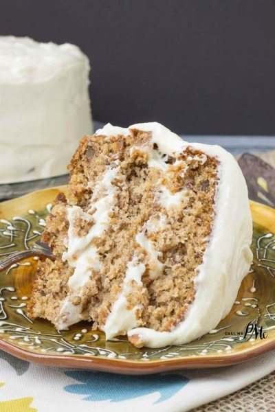 Old Fashioned Banana Layer Cake With Cream Cheese Frosting » Call