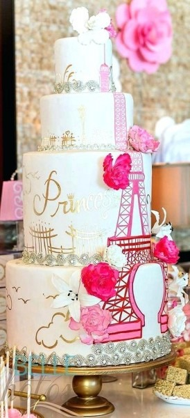 Paris Cake Ideas Themed Birthday – Betseyjohnsonshoes Us