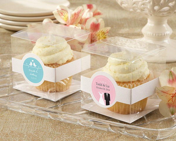 Personalized Cupcake Boxes   Br (set Of 12)