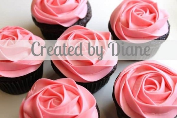 How To Frost A Rose On A Cupcake, Video