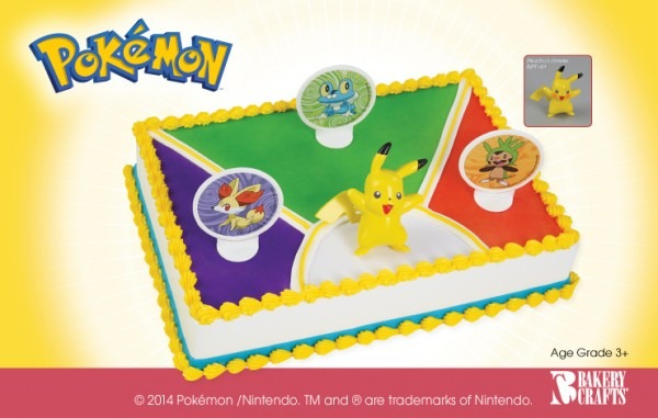 12 Publix Pokemon Cupcakes Photo